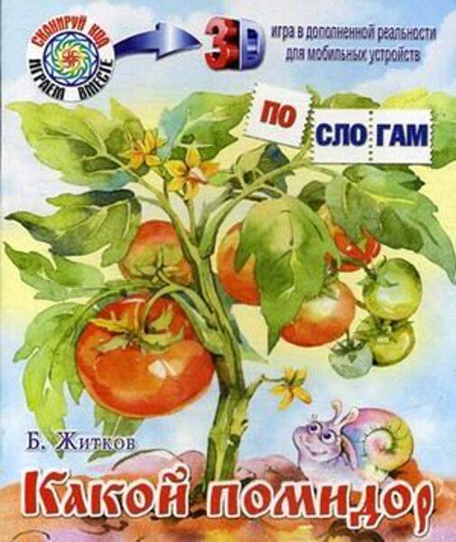 Какой помидор. Б.Житков. По слогам